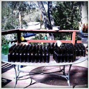 Organizing bottles