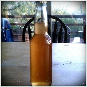 Apfelwein #1 (1/5): Bottled -- Raspberry Liqueur Primer
